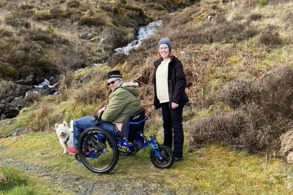 Ricky Tuke, UK, Mountain Trike fitted with eKit