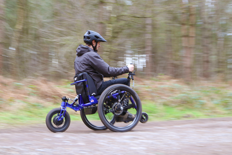 eTrike all terrain wheelchair